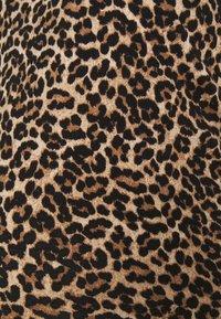 ONLY - OLMLOVELY  LIFE LEO O NECK  - Jersey dress - black - 2