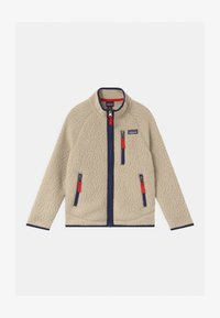 Patagonia - BOYS RETRO PILE - Fleece jacket - beige - 0