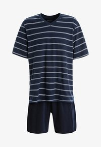 Schiesser - ANZUG KURZ SET - Pyjama - dunkelblau - 5