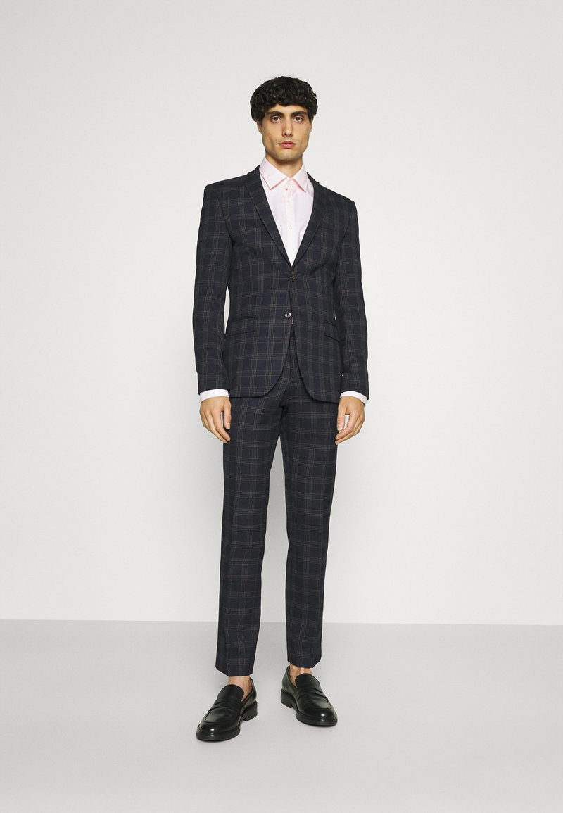 Ben Sherman Tailoring - CHECK SUIT - Kostym - navy