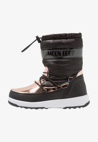 Moon Boot - GIRL SOFT WP - Winter boots - black/copper - 1