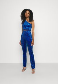 Juicy Couture - FIONA PRINTED - Top - blue wave - 4