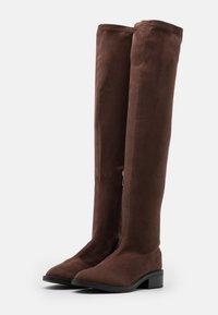 RAID - TAMARA - Høye støvler - brown - 2