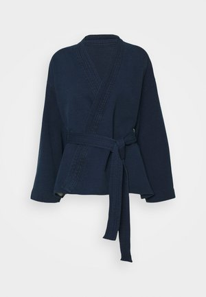 WOMEN´S TOP - Summer jacket - dark blue