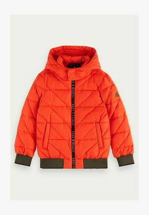 Winter jacket - orange flash