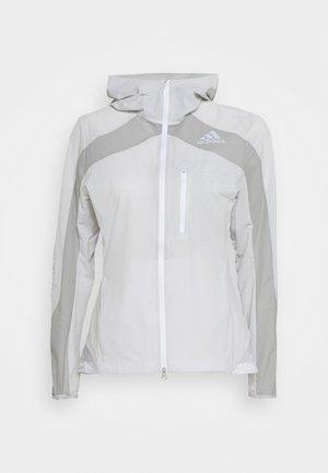 MARATHON - Impermeabile - white/grey
