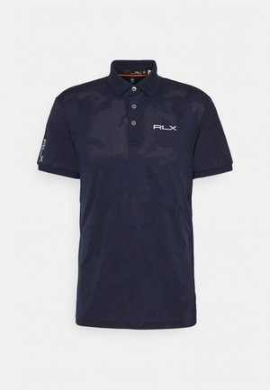 SHORT SLEEVE - Poloshirt - french navy camo