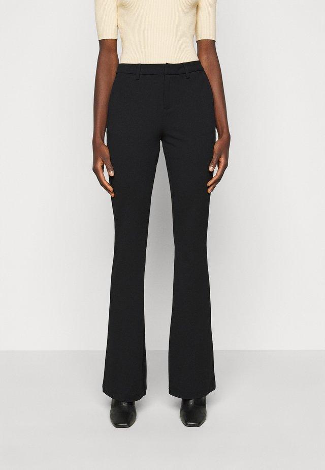 ONLROCKY MID FLARED PANT - Bukse - black