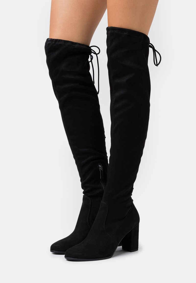 Tamaris - BOOTS - Over-the-knee boots - black