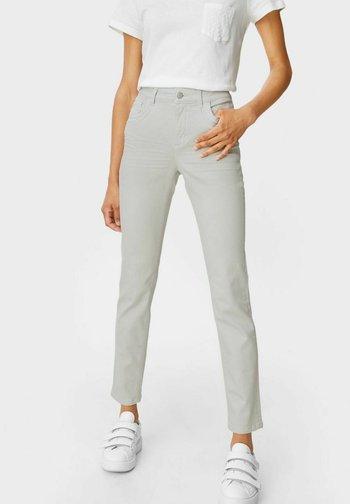 Slim fit jeans - denim light gray