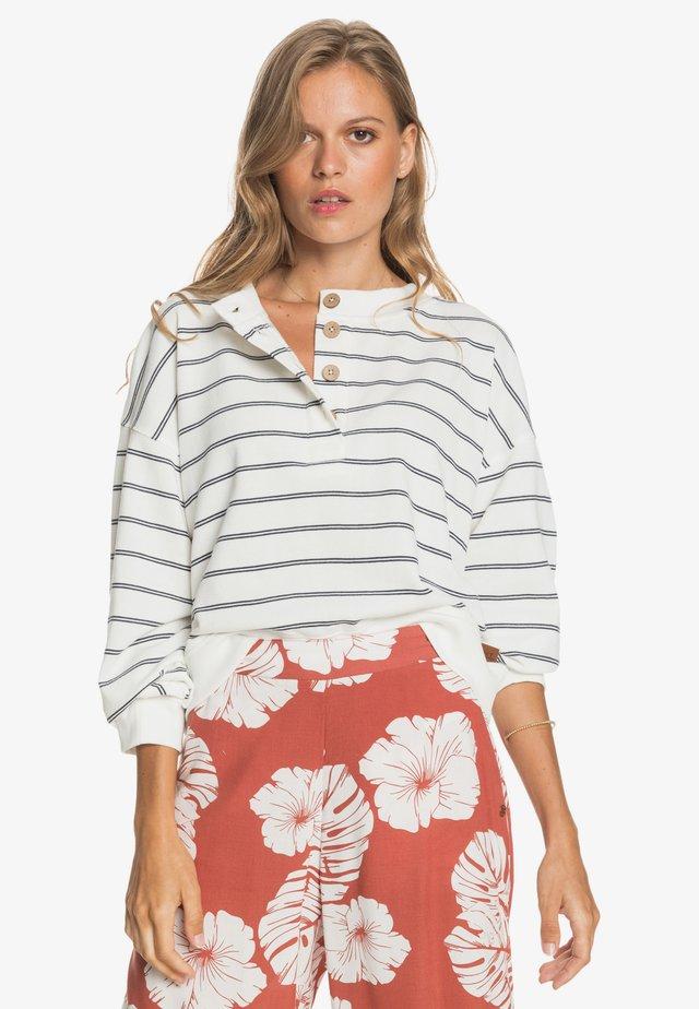 SEA STOKE  - Sweater - snow white horiz will stripes