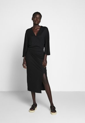 IRENE DRESS - Jersey dress - black
