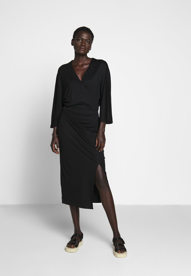 Filippa K - IRENE DRESS - Jersey dress - black