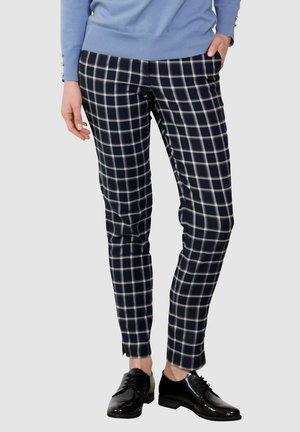Trousers - marineblau