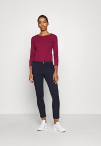 Benetton - Long sleeved top - burgandy - 1