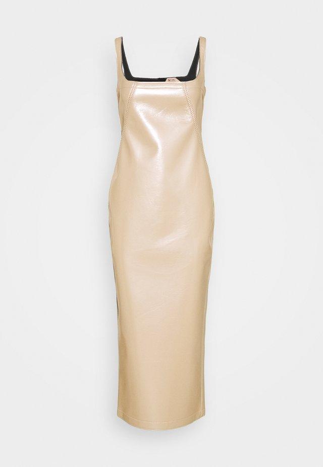 DRESS - Cocktailjurk - beige