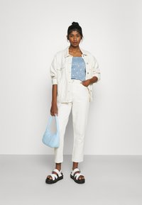 Pieces - PCMARY STRAP SMOCK - Toppe - blue fog - 1