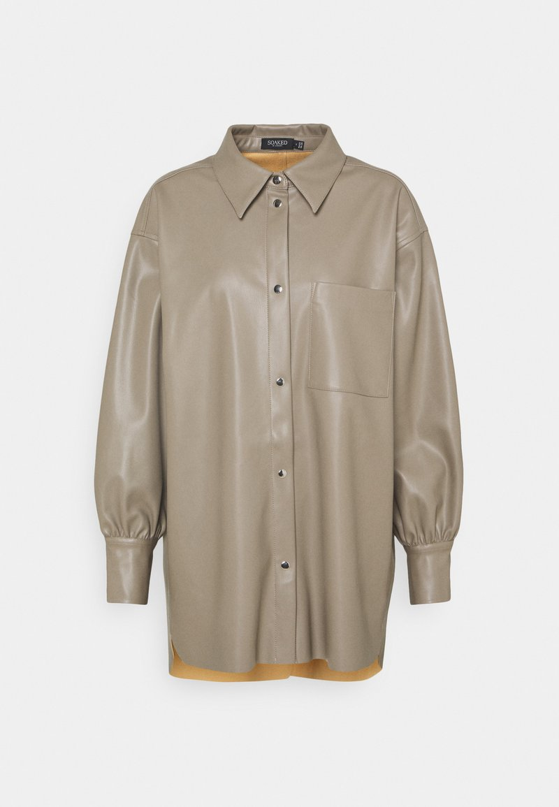 Soaked in Luxury - Button-down blouse - vetiver