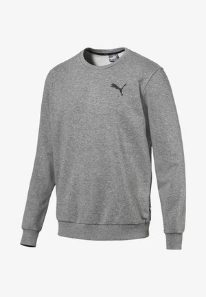 Sweatshirt - medium gray heather-cat