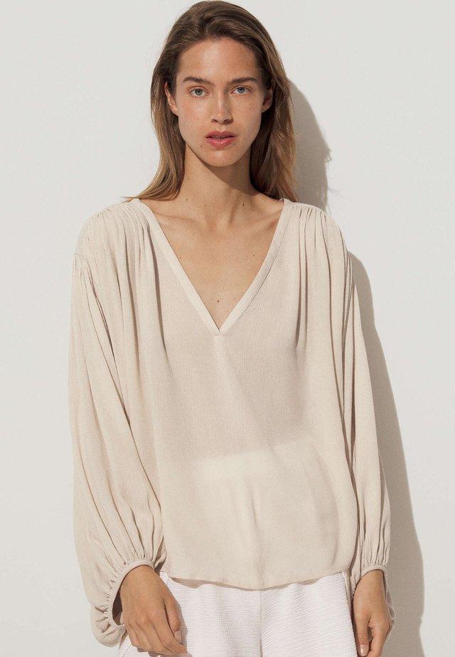 Bluzka - beige