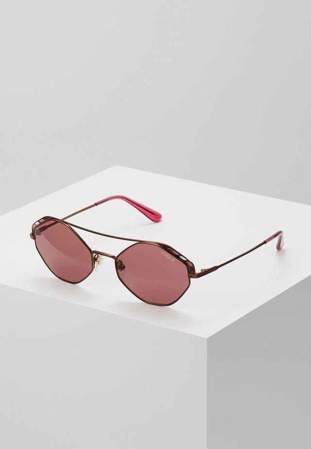 Sunglasses - copper
