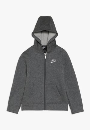 CLUB HOODIE - Zip-up hoodie - carbon heather