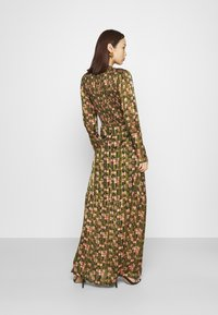 Scotch & Soda - SHEER MAXI DRESS WITH ALL OVER PRINT - Maxi šaty - green - 2