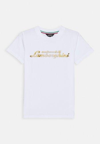 LOGOSCRIPT - Print T-shirt - white
