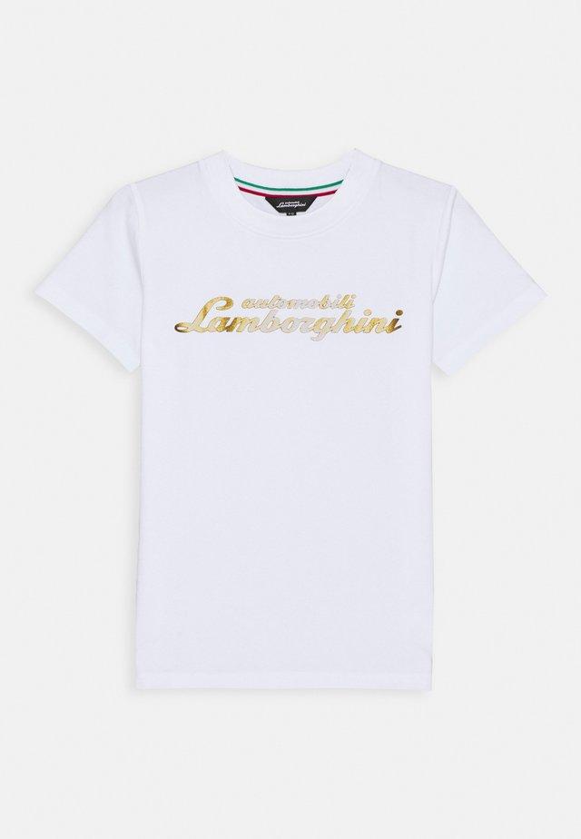 LOGOSCRIPT - T-shirt print - white