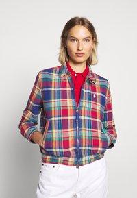 Polo Ralph Lauren - JACKET - Giacca leggera - blue/red madra - 3