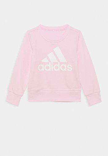 Sweatshirt - pink/white