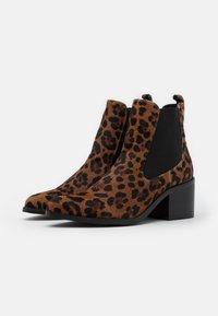 Carmela - LEOPARD LADIES - Ankle boots - brown - 2