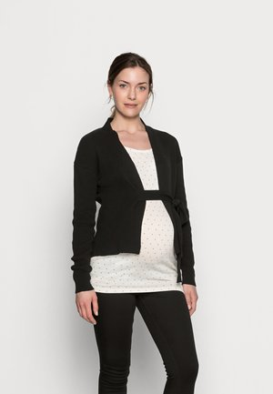 MLKIKA WRAP - Cardigan - black