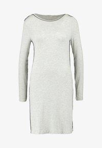 Esprit - JAYLA NIGHTSHIRT MELANGE  - Nightie - light grey - 3