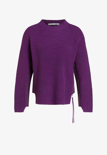 Pullover - rose green