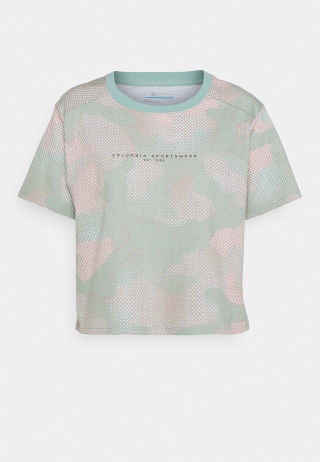 PARK™ BOX TEE - T-shirt imprimé - aqua tone