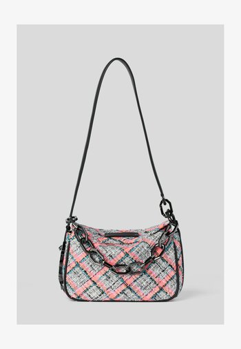 Handbag - pink multi