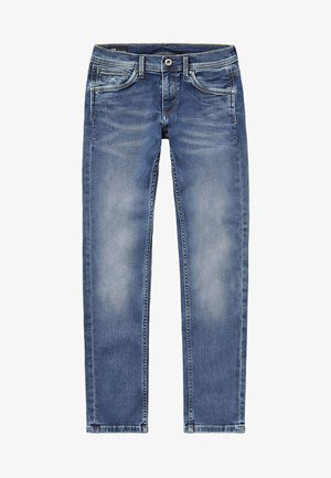 CASHED - Straight leg jeans - blue denim