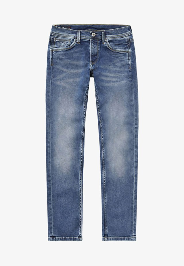 CASHED - Jean droit - blue denim