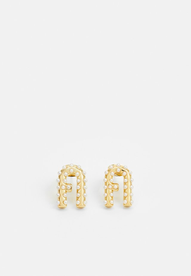 ARC LOGO EARRING - Earrings - gold-coloured