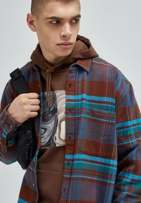PULL&BEAR - Camicia - brown - 3
