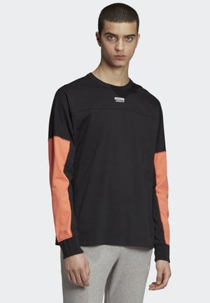 R.Y.V. LONG-SLEEVE TOP - Camiseta de manga larga - black