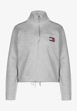 Sweatshirt - lt grey htr