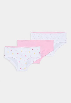 FASHION 3 PACK - Boxerky - white/leight pink