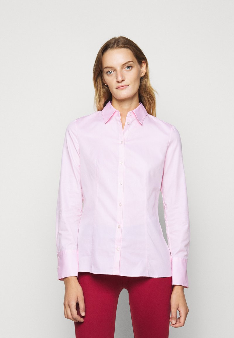 HUGO - THE FITTED - Blouse - light pastel pink