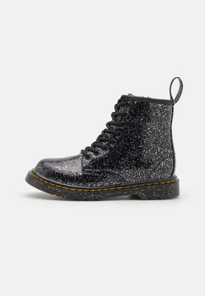 1460 - Lace-up ankle boots - black cosmic glitter