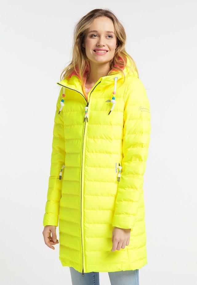 Abrigo de invierno - neon yellow