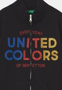 Benetton - BASIC GIRL - Zip-up hoodie - black - 2