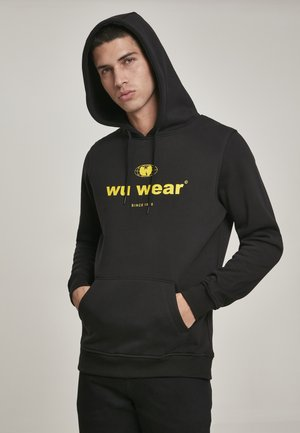 WU-WEAR SINCE  - Hoodie - black
