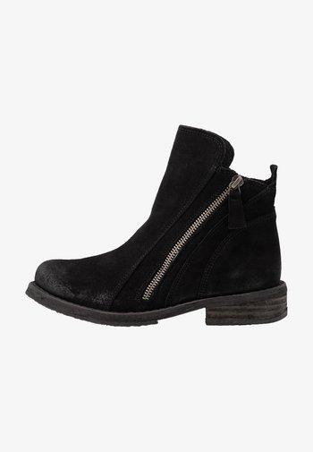 COOPER - Støvletter - black